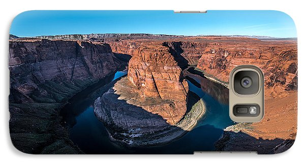 Shadows Of Horseshoe Bend Page, Arizona Galaxy S7 Case