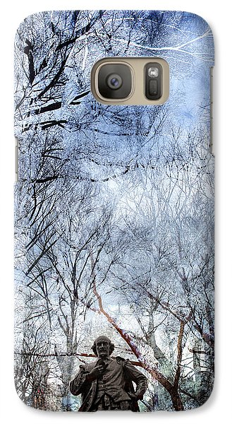 Shakespeare In The Park Collage Galaxy S7 Case