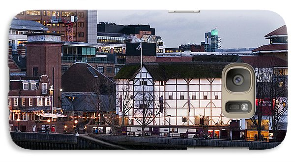 Galaxy Case featuring the photograph Shakespeare's Globe by David Isaacson