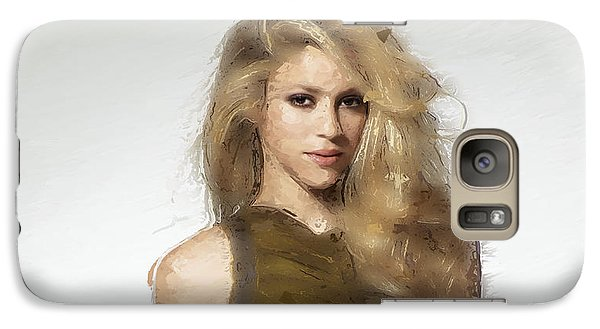 Shakira Galaxy S7 Case