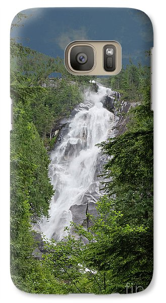 Galaxy Case featuring the photograph Shannon Falls by Rod Wiens