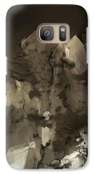Galaxy Case featuring the photograph Shapes by Olimpia - Hinamatsuri Barbu