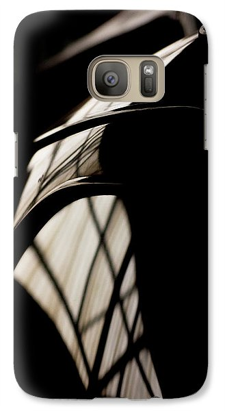 Galaxy Case featuring the photograph Shapes by Paul Job