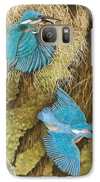 Sharing The Caring Galaxy Case by Pat Scott