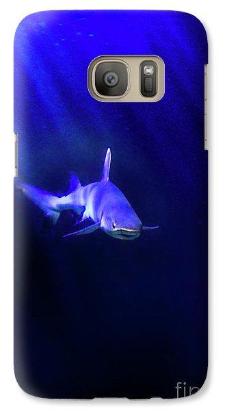 Galaxy Case featuring the photograph Shark by Jill Battaglia
