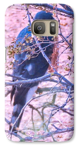 Sharp-shinned Hawk Hunting In The Desert 2 Galaxy S7 Case