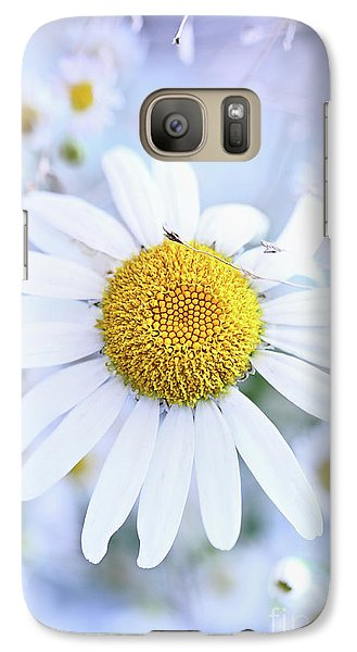 Galaxy Case featuring the photograph Shasta Daisy by Stephanie Frey