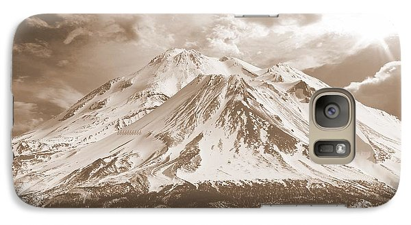Galaxy Case featuring the photograph Shasta Mt by Athala Carole Bruckner