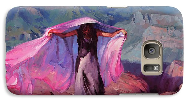 Grand Canyon Galaxy S7 Case - She Danced By The Light Of The Moon by Steve Henderson