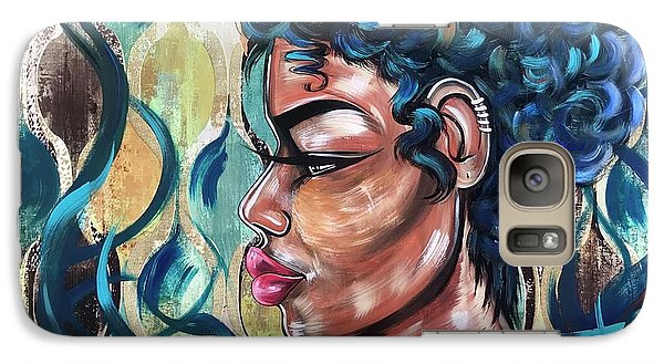 Galaxy S7 Case - She Was A Cool Flame by Artist RiA
