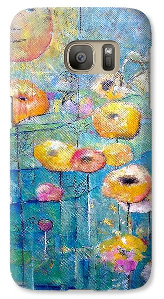Galaxy Case featuring the painting She Who Waters by Eleatta Diver