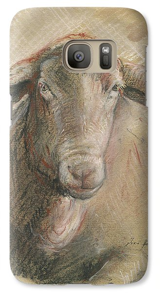 Sheep Head Galaxy S7 Case