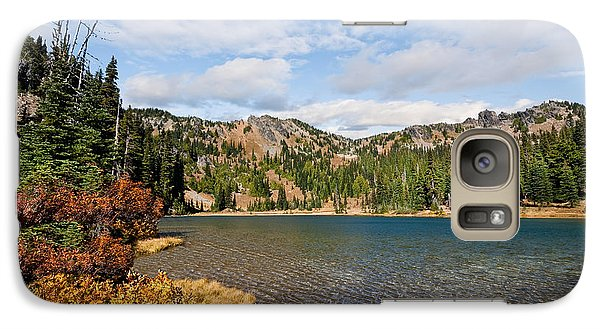 Galaxy Case featuring the photograph Sheep Lake In The Fall by Jeff Goulden