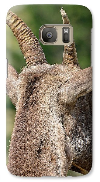 Galaxy Case featuring the photograph Sheepish Look by Bruce Gourley