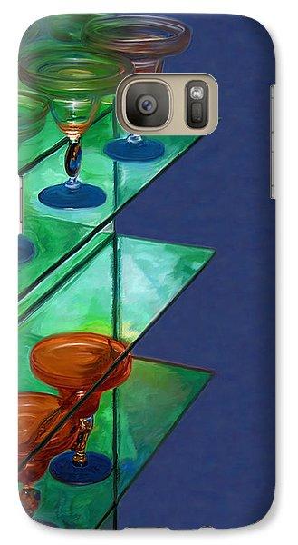 Galaxy Case featuring the digital art Sheilas Margaritas by Holly Ethan