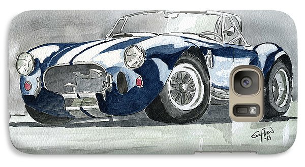 Galaxy Case featuring the painting Shelby Cobra by Eva Ason