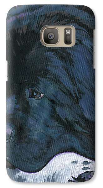 Galaxy Case featuring the painting Shelby by Nadi Spencer