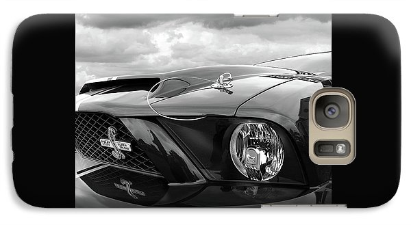 Galaxy Case featuring the photograph Shelby Super Snake Mustang Grille And Headlight by Gill Billington