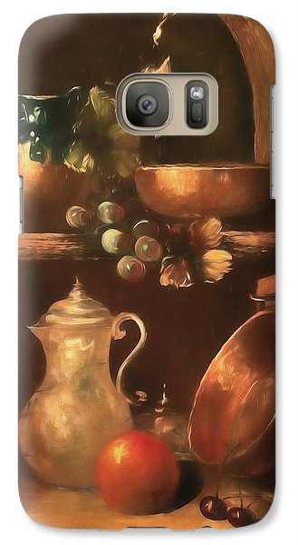 Galaxy Case featuring the photograph Shelf Life 2 by Donna Kennedy
