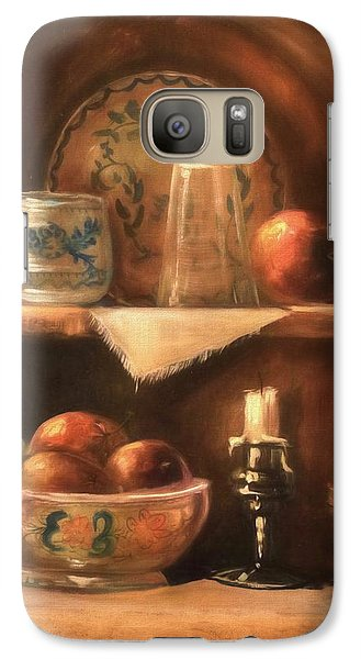 Galaxy Case featuring the photograph Shelf Life by Donna Kennedy