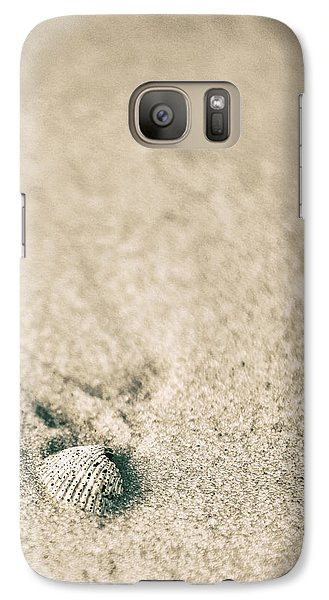 Galaxy Case featuring the photograph Shell On Beach Alabama  by John McGraw