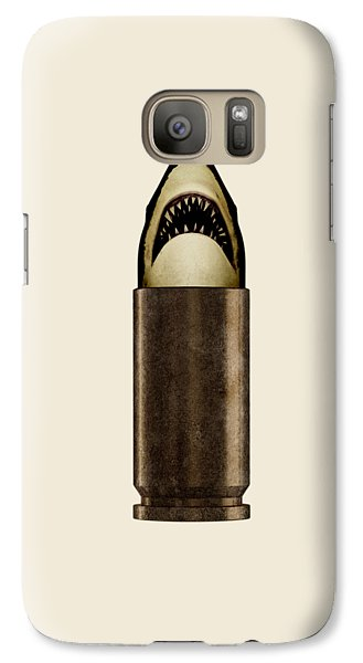 Galaxy S7 Case - Shell Shark by Nicholas Ely