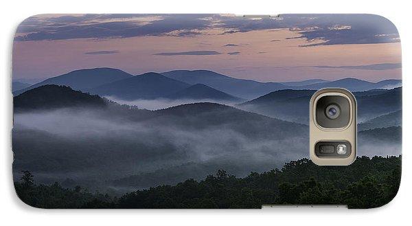 Galaxy Case featuring the photograph Shenandoah Sunrise by Kevin Blackburn