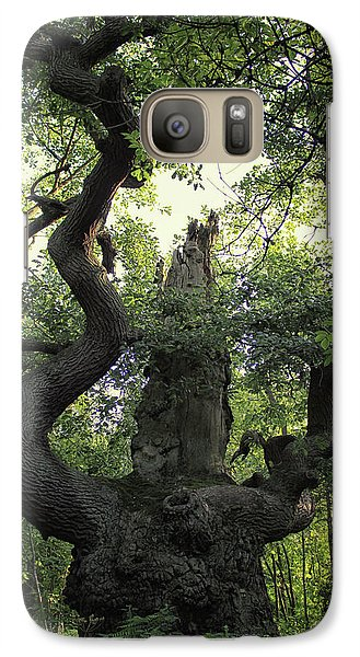 Dungeon Galaxy S7 Case - Sherwood Forest by Martin Newman