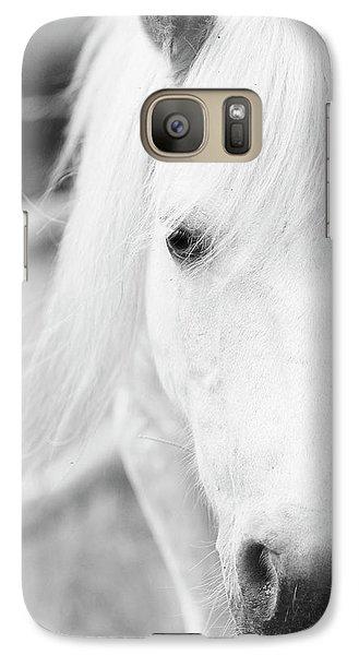 Shetland Pony Galaxy S7 Case by Tina Lee