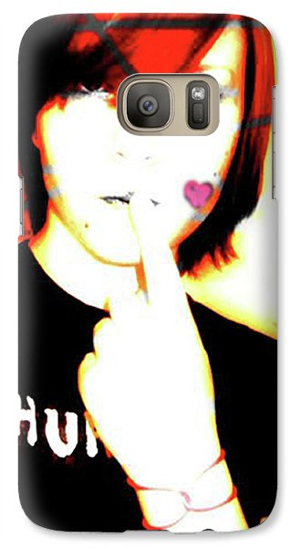 Galaxy Case featuring the photograph Shh Its Quiet Time by Jane Autry