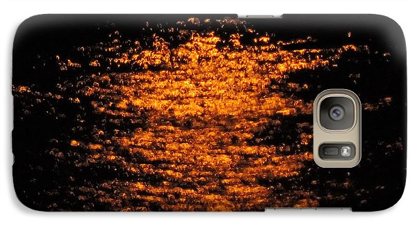 Galaxy Case featuring the photograph Shimmer by Linda Hollis