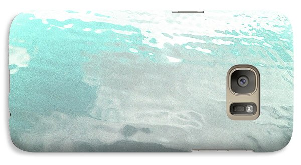 Galaxy Case featuring the photograph Let The Water Wash Over You. by Rebecca Harman