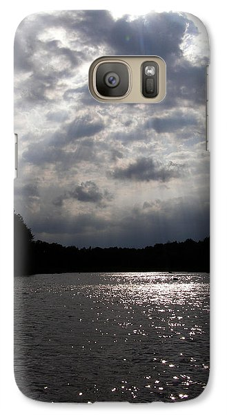 Galaxy Case featuring the photograph Shine On by Angie Rea