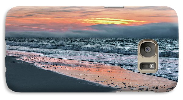 Galaxy Case featuring the photograph Shine On Me Beach Sunrise  by John McGraw