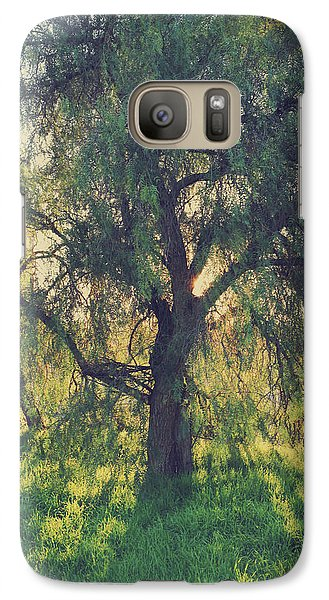 Galaxy Case featuring the photograph Shine Your Light by Laurie Search