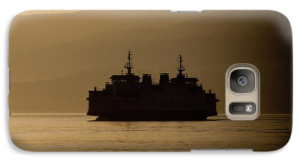 Galaxy Case featuring the digital art Ship by Bruno Spagnolo
