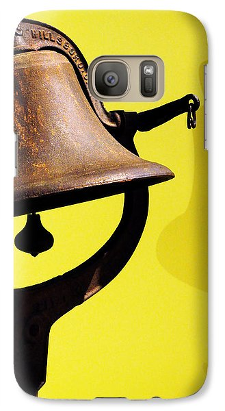 Galaxy Case featuring the photograph Ship's Bell by Rebecca Sherman