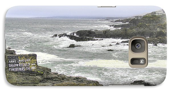 Galaxy Case featuring the digital art Shipwrecked by Sharon Batdorf