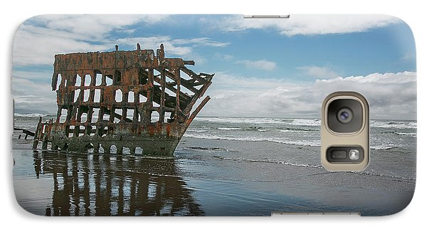 Galaxy Case featuring the photograph Shipwreck by Elvira Butler