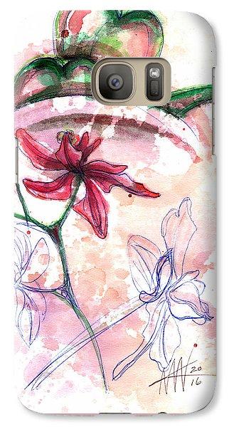 Shiraz Orchid II Galaxy S7 Case