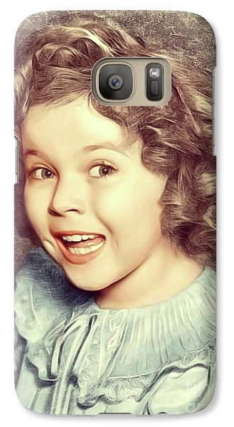 Shirley Temple, Actress Galaxy S7 Case