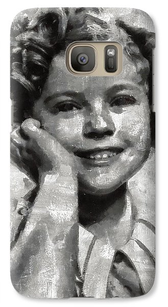 Shirley Temple By Mary Bassett Galaxy S7 Case
