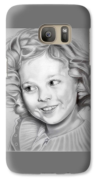 Shirley Temple Galaxy S7 Case
