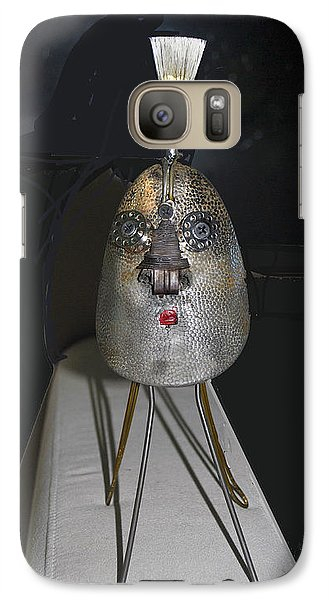Galaxy Case featuring the photograph Shoe Guard  by Bill Thomson