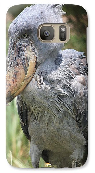 Shoebill Stork Galaxy S7 Case by Carol Groenen