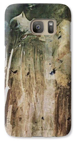 Galaxy Case featuring the digital art Shop Window by Alexis Rotella