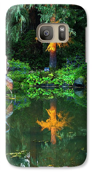 Galaxy Case featuring the photograph Shore Acres Beauty by Dale Stillman