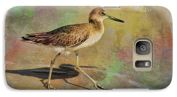 Galaxy Case featuring the painting Shore Bird Beauty by Deborah Benoit