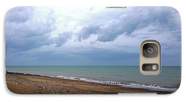 Galaxy Case featuring the photograph Shoreham Shoreline by Anne Kotan