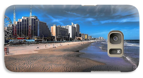 Galaxy Case featuring the photograph Shoreline by Jim Hill